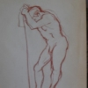 STANDING MALE NUDE 021