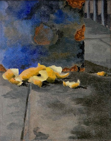 contemporary painting, painting, gregory beise, garbage still life, oil painting, art, american art