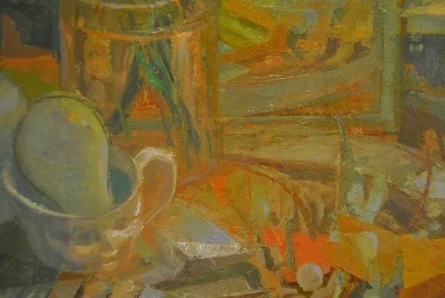 Garden (Jar Painting IV) DETAIL