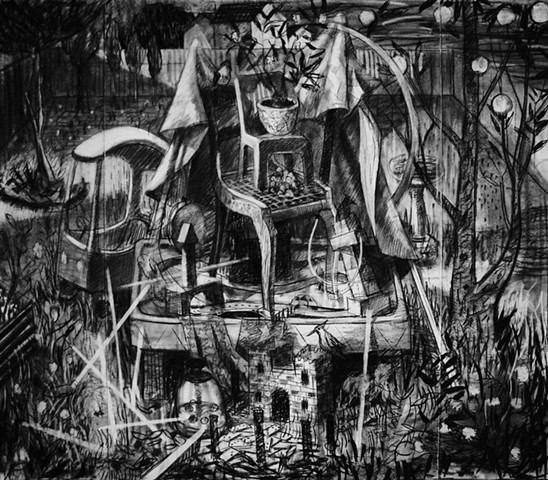 Study for Nocturnal Shrine
