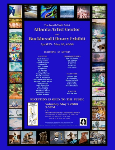 Fourth Annual AAC and Buckhead Library Exhibit