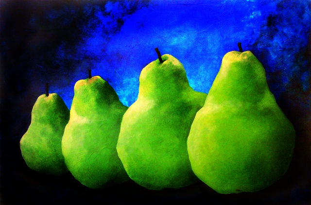 'Four Pears In A Row""
