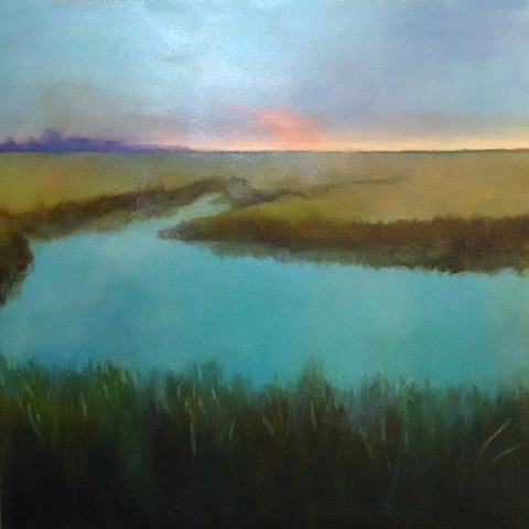 Early Morn On The Marsh