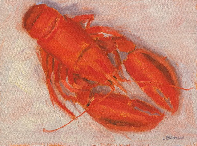 Lobster, LBI, Jersey shore, paintings
