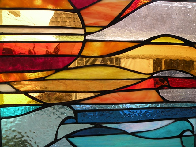 Stained glass, LBI, New Jersey, Long Beach Island Artist