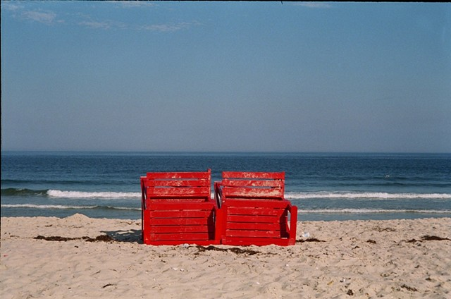 LBI, guard stands, beach photography