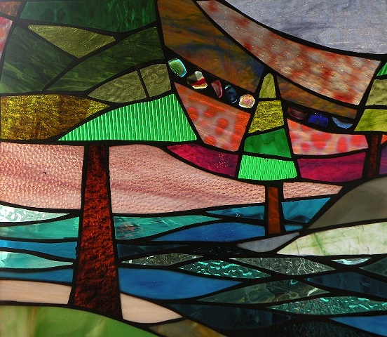 Winter Sol Series - Stained Glass