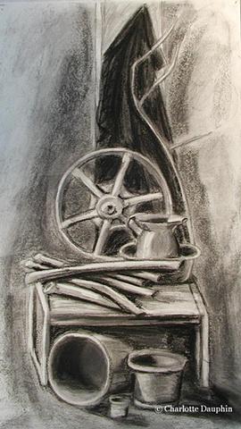 Still Life with Wheel