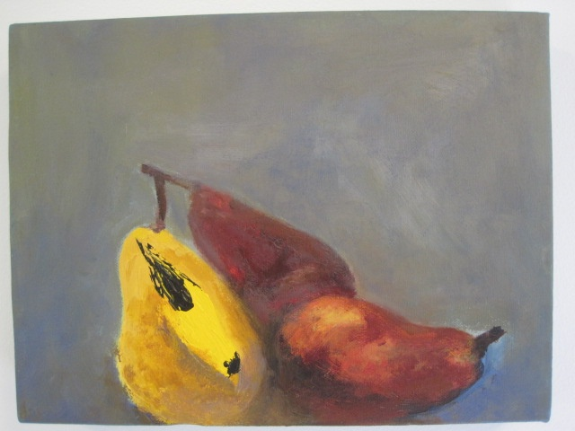 Goldfinch with Pears