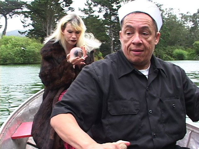 Bambi Lake as the Baroness Cimitière and Red Jordan Arobateau as a Sailor, IBÉRIA, 2007