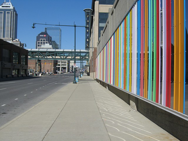 Public art by Shawn Causey, Indianapolis, Indiana, Arts Council of Indianapolis