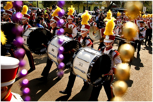 Mardi Gras, Carnival, Marching Band, Parade, New Orleans, Crystal Shelton