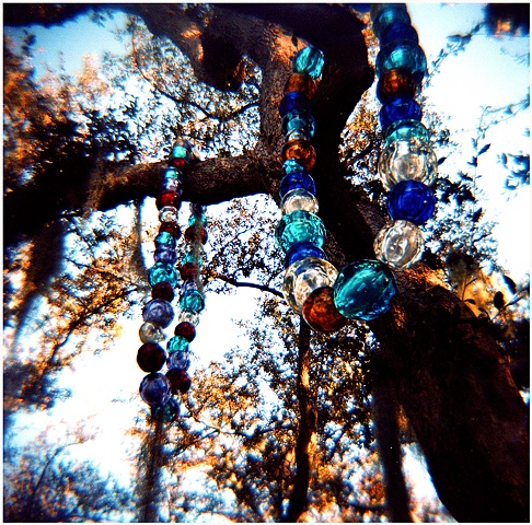 beads, new orleans, city park, sculpture garden, crystal shelton