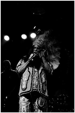"Big Chief Monk Boudreaux performs at Blue Nile to promote the release of his latest CD, ""DON'T BOW DOWN""."