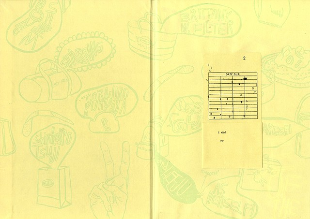 The Purse of the Raisin-god (endpaper spread)