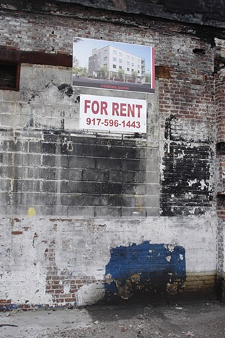 for rent photograph by Michael Bernstein