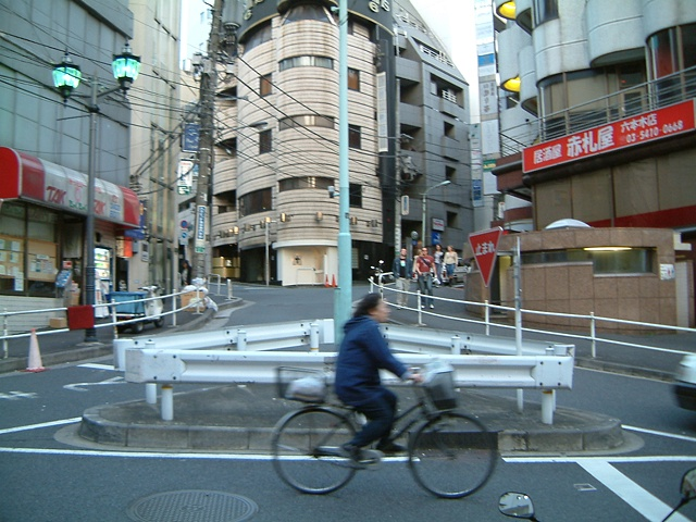 Tokyo bicycle photograph by Michael Bernstein