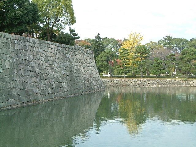 Kyoto castle moat photograph by Michael Bernstein