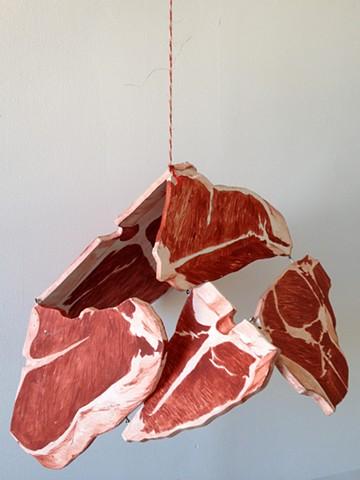Hanging Steaks