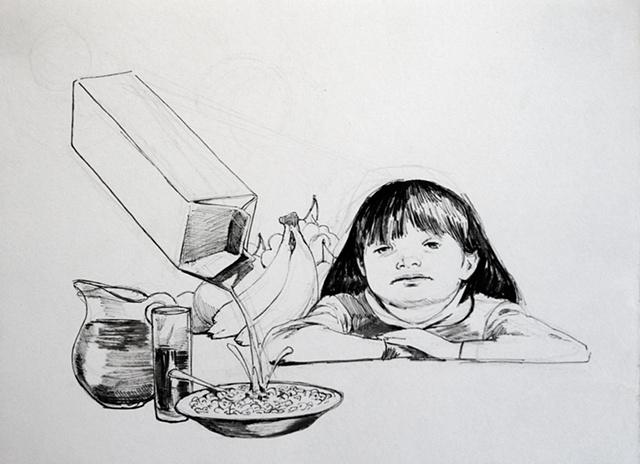 Breakfast Drawing