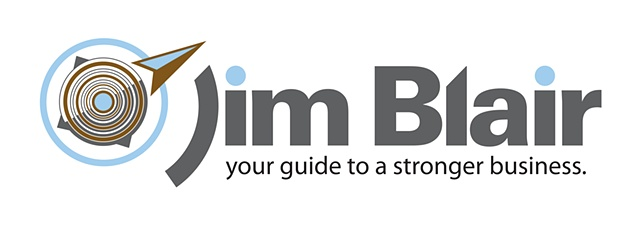 Logo:   Jim Blair, Business Coach