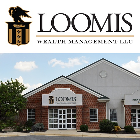Loomis Wealth Management LLC logo signage
