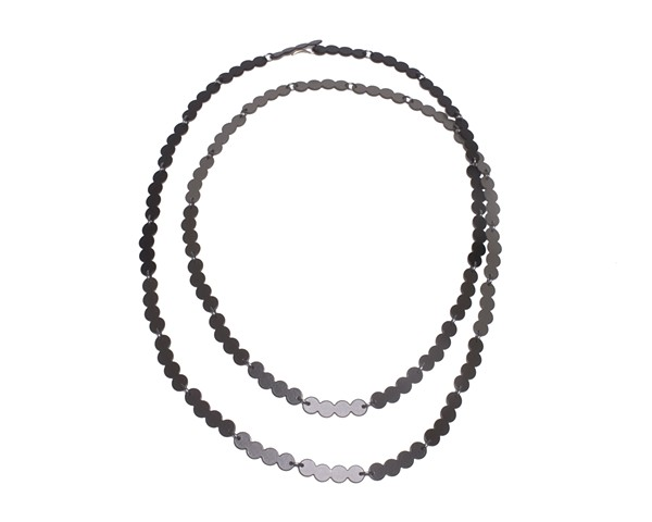 Pearl Links Chain - Dark Grey Gradient