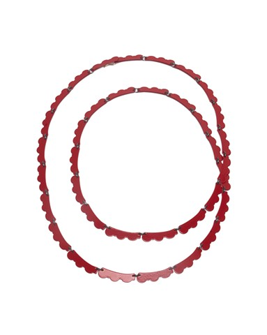 Decorative Links Chain in Red