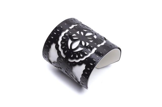 2pc Overlay Cuff Bracelet
