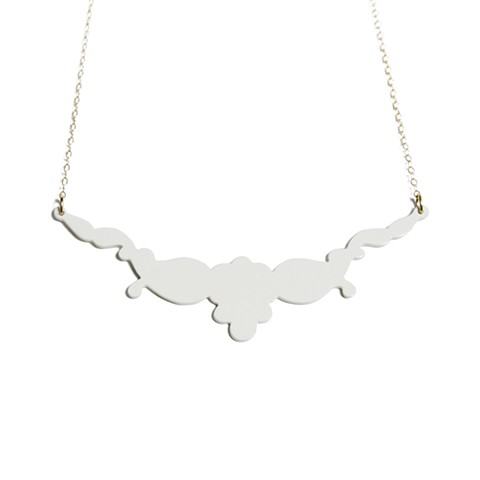 Decorative Sweet Necklace - SHNK005CR