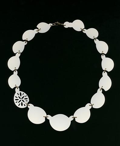 16 piece Selective Piercing Neckpiece - SHNK070