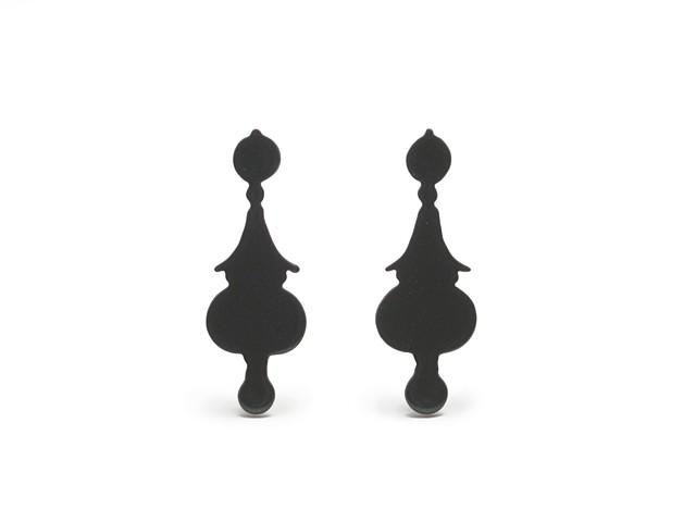 Decorative Pearl Drop Silhouettes - EP009