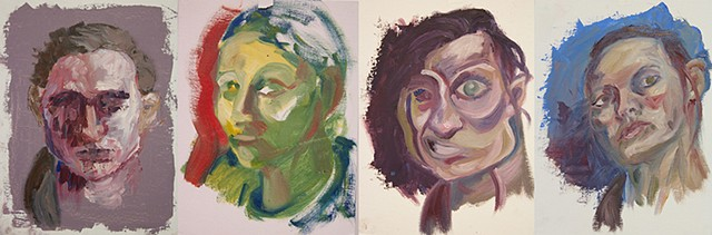 Painting I_Mastercopy Self Portrait