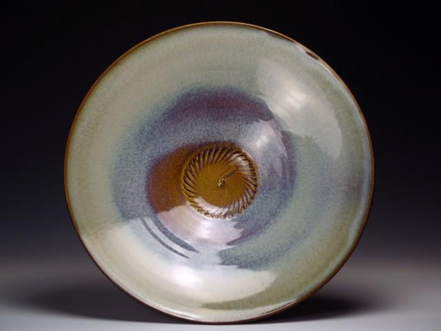 Light Blue/Brown Platter
