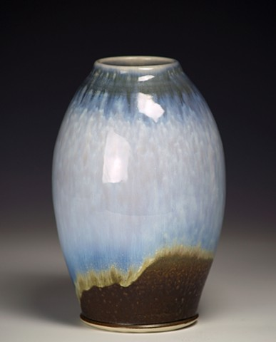 Blue/Black Vase