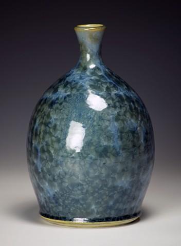 Blue Cone 6 Crystalline Bottle