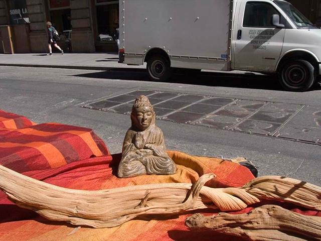 soho, nyc, New York City, Buddah, urban