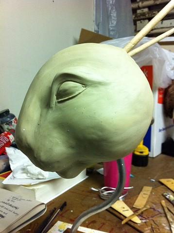 Initial Sculpt for Butch Bunny