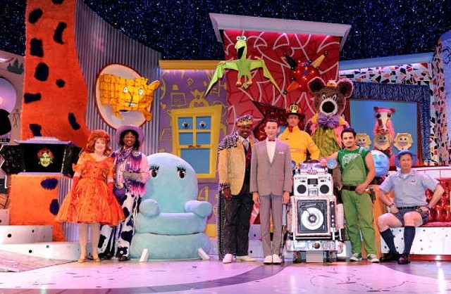 Pee Wee's Playhouse on Broadway