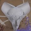 thermoplastic devil dog mask in progress