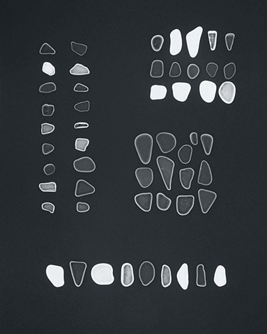 Photogram #9, Sea Glass