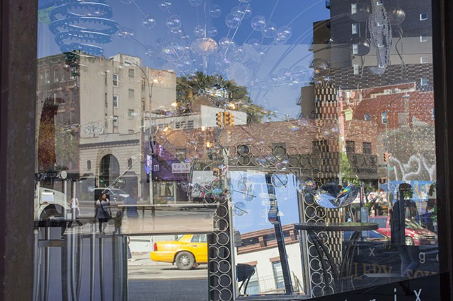 Bowery Window with Mirrors