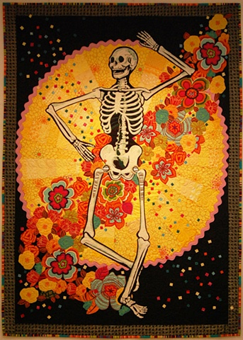 Grateful Dance in the tradition of Dia de los Muertos