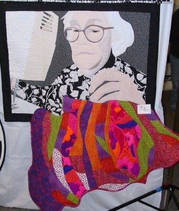 She Sews a Magic Quilt to Keep her Safe on her Journey Home.