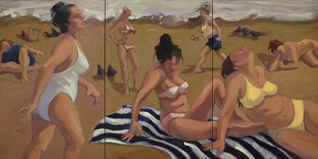 Women at the beach