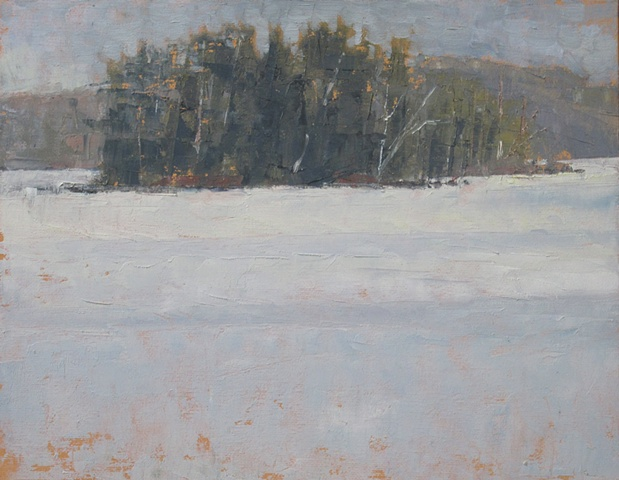 Island In The Snow - sold