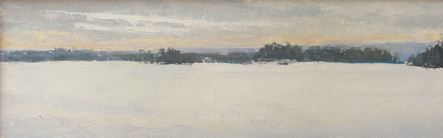 Hushed Lake - sold
