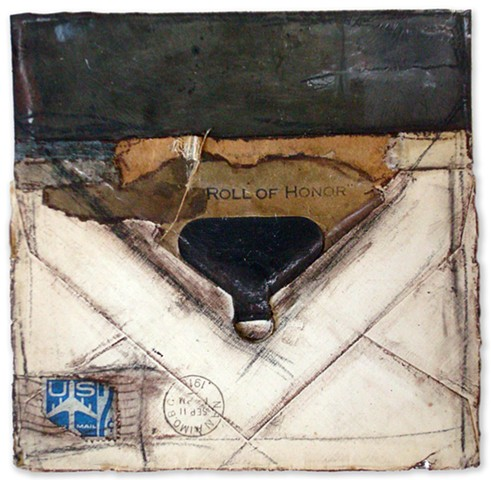 Crystal Neubauer Collage Mixed Media Fine Art Salvaged