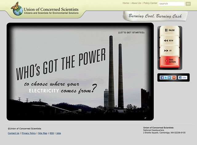 """A fun, ok, """"funish"""" interactive tool that reveals the true costs of burning coal instead of alternative fuels."""