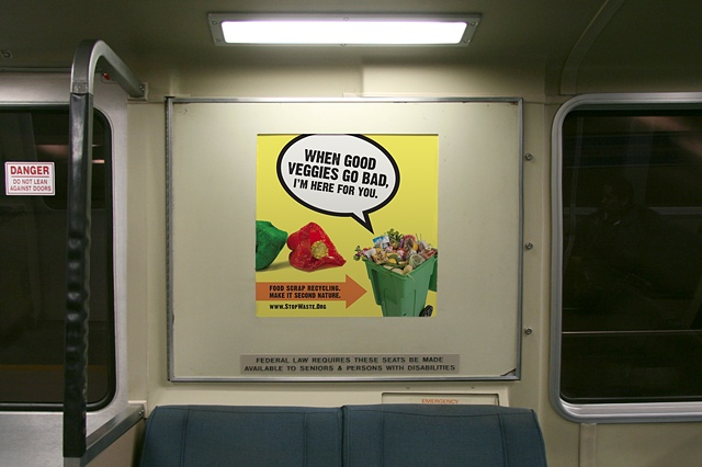 Stop Waste. composting campaign